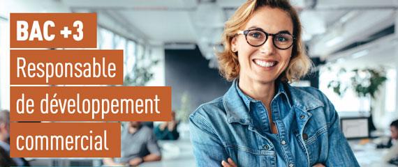Bac+3 Responsable développement commercial